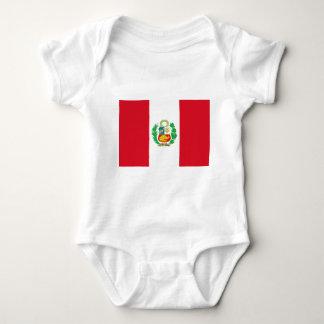 Bandera del Perú - bandera de Perú Body Para Bebé