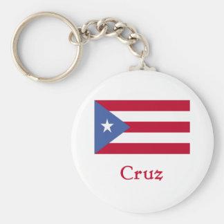 Bandera del puertorriqueño de Cruz Llavero