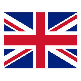 Bandera del Reino Unido - versión auténtica de Postal