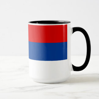 Bandera del República Serbia Taza