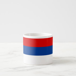 Bandera del República Serbia Taza De Espresso