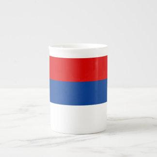 Bandera del República Serbia Taza De Té