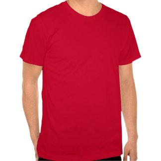 Bandera del rojo de Inglaterra Camisetas