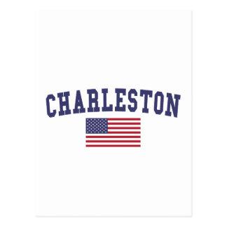 Bandera del SC los E.E.U.U. de Charleston Postal