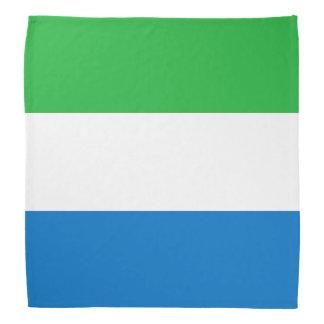 Bandera del Sierra Leone Bandana