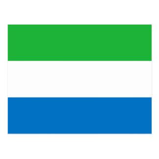Bandera del Sierra Leone Postal