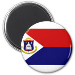 Bandera del St Maarten de Antillas holandesas Imán De Frigorífico