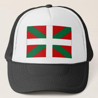 Bandera del vasco de España Gorra De Camionero