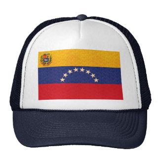 Bandera del venezolano del modelo del vintage gorros