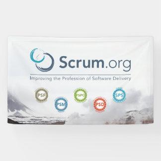 bandera del vinilo de Scrum.org Lona