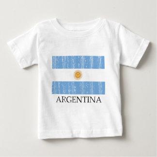 Bandera del vintage de la Argentina Camisas