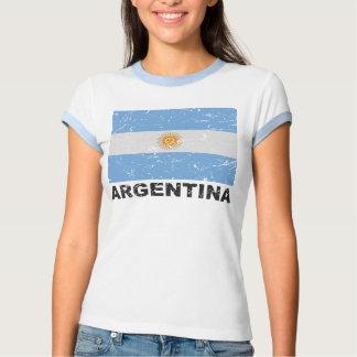 Bandera del vintage de la Argentina Camiseta