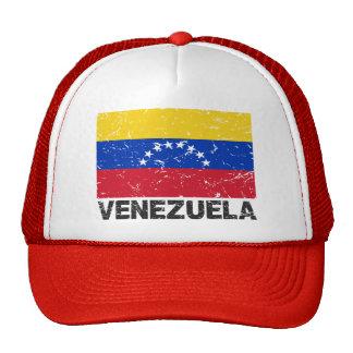 Bandera del vintage de Venezuela Gorros