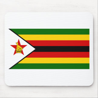 Bandera del weZimbabwe de Zimbabwe - de Alfombrilla De Ratón