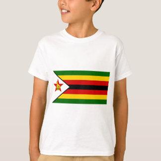Bandera del weZimbabwe de Zimbabwe - de Camiseta