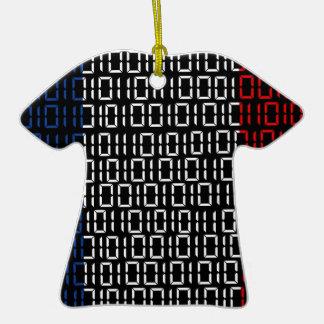 bandera digital Francia Ornamento Para Arbol De Navidad