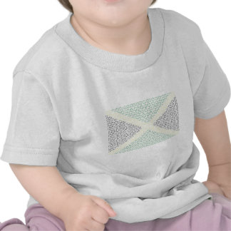 bandera digital (Jamaica) Camiseta