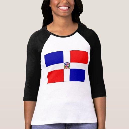 Bandera dominicana camiseta