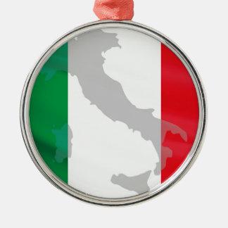 bandera e Italia italianas Adorno De Cerámica