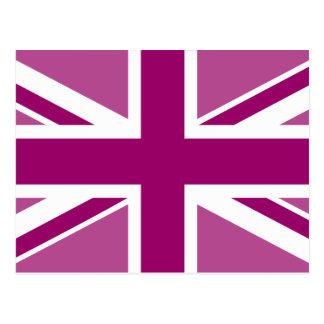 Bandera Editable de Union Jack del color Postal