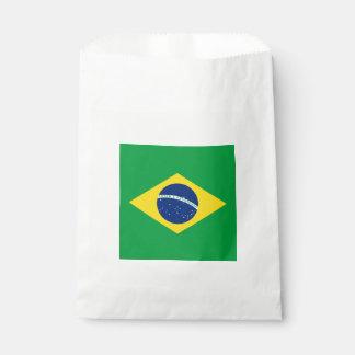 Bandera: El Brasil Bolsa De Papel
