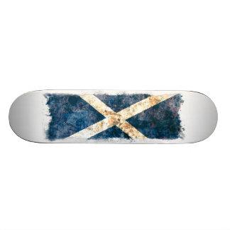 Bandera escocesa tablas de patinar