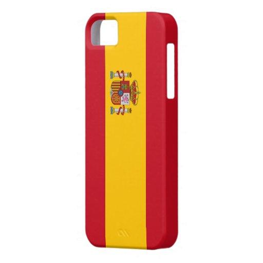 Bandera España - Funda / Carcasa para iPhone 5/5S iPhone 5 Case-Mate Carcasas