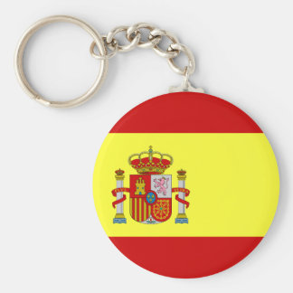 Bandera española Bandera Española Llavero Redondo Tipo Chapa