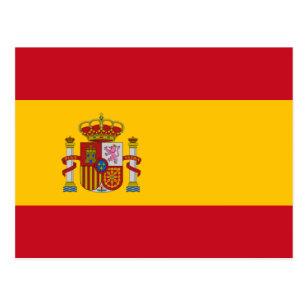 Bandera española de las postales del personalizado 1f0fec7489e