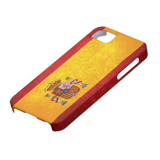 Bandera española iPhone 5 Case-Mate cobertura