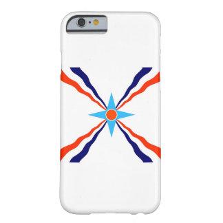 bandera étnica de la gente asiria funda barely there iPhone 6