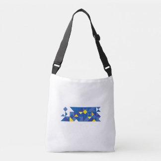 Bandera europea abstracta, bolso de Europa