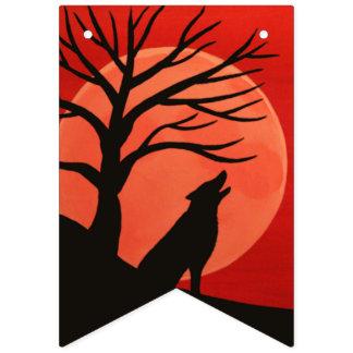 Bandera fantasmagórica del fiesta de Halloween del