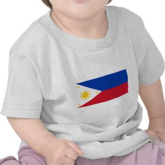 Bandera filipina, bandera nacional de las islas camisetas