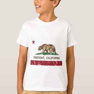 bandera fremont de California apenado Camiseta
