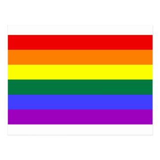 Bandera gay tarjetas postales