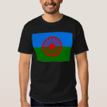 Bandera_gitana Camisetas