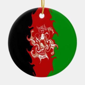Bandera Gnarly de Afganistán Ornamente De Reyes