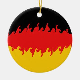 Bandera Gnarly de Alemania Ornamentos De Reyes
