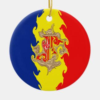 Bandera Gnarly de Andorra Adorno De Reyes