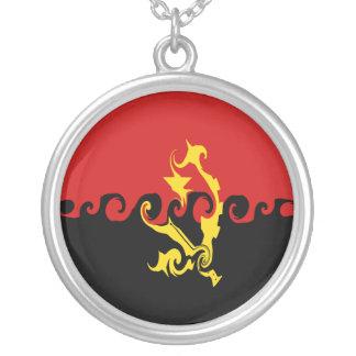 Bandera Gnarly de Angola Collares