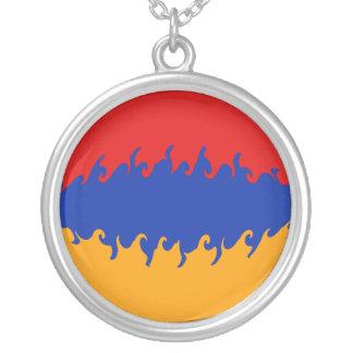 Bandera Gnarly de Armenia Pendientes