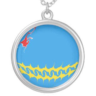 Bandera Gnarly de Aruba Colgante Personalizado