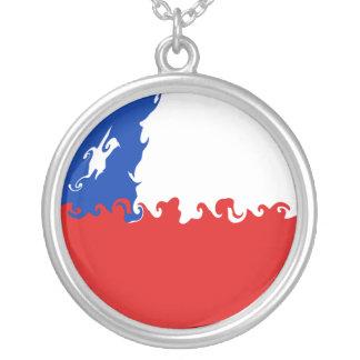 Bandera Gnarly de Chile Pendiente Personalizado