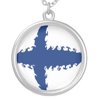Bandera Gnarly de Finlandia Pendiente Personalizado