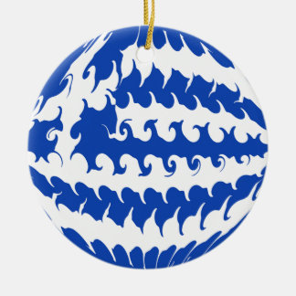 Bandera Gnarly de Grecia Ornamente De Reyes