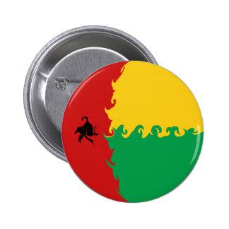 Bandera Gnarly de Guinea-Bissau Pins