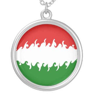 Bandera Gnarly de Hungría Colgante