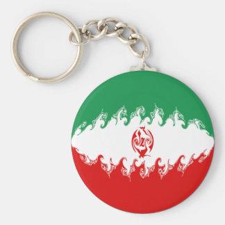 Bandera Gnarly de Irán Llaveros Personalizados