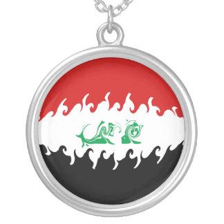 Bandera Gnarly de Iraq Colgantes